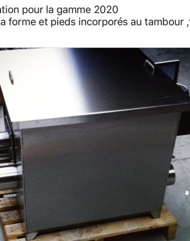 Filtre à Tambour Inox 25 Modèle 2020