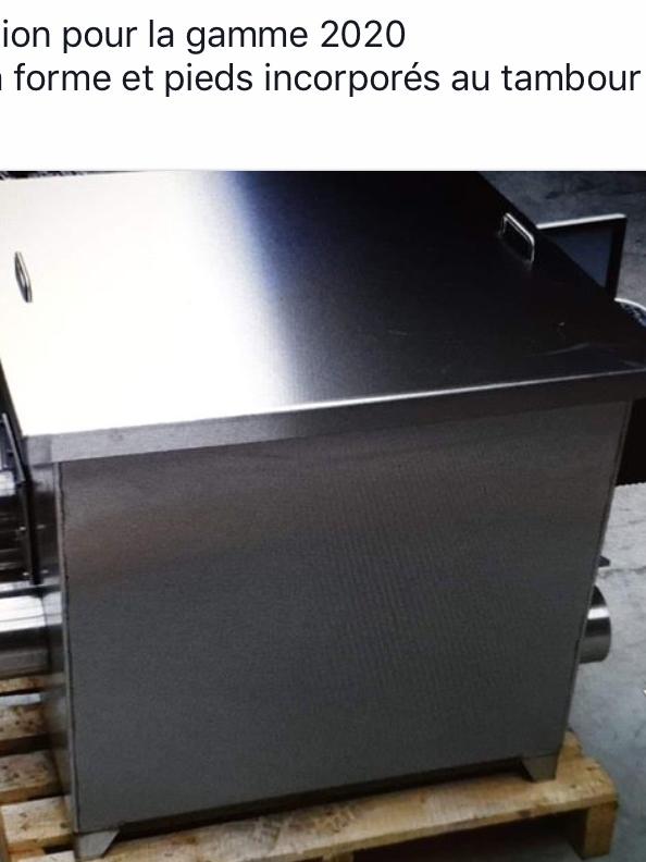 Filtre à Tambour Inox 70 modèle 2020