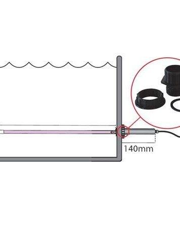 UV-C immergé T5  75 w