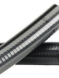 Tuyau d'aspiration et refoulement noir avec serpentin Qualité Robuste 50mm 10 mètres