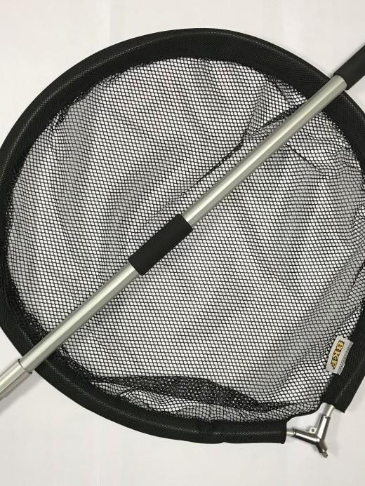 Épuisette avec manche télescopique Diamètre du filet 60 cm