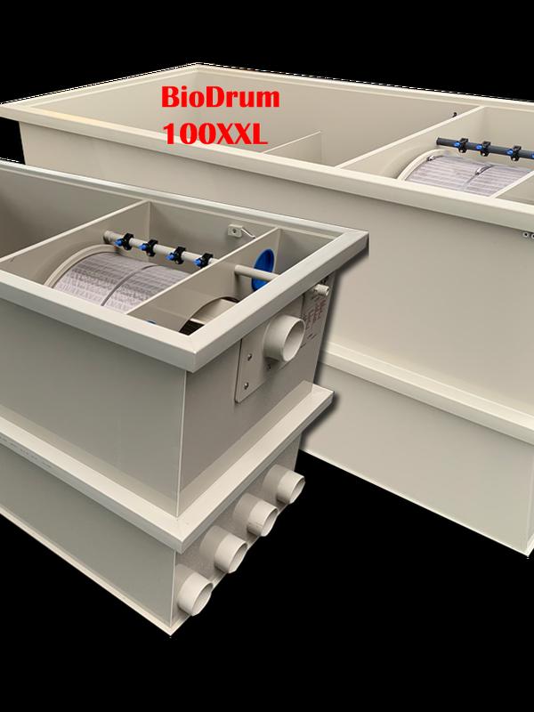Biodrum 100 XXL -Bassin 160 M3 -  Débit max 80 m3 / H