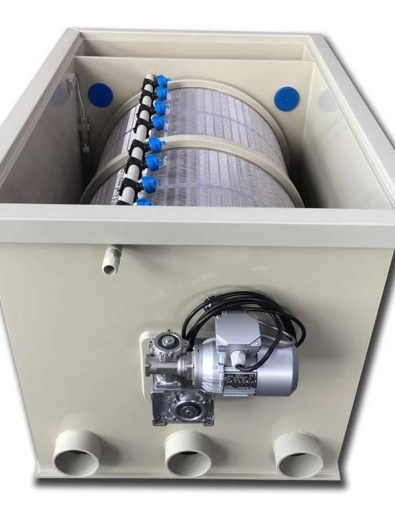 2021 New Filtre à Tambour 100 Débit max 100m3/h - Bassin 200 m3