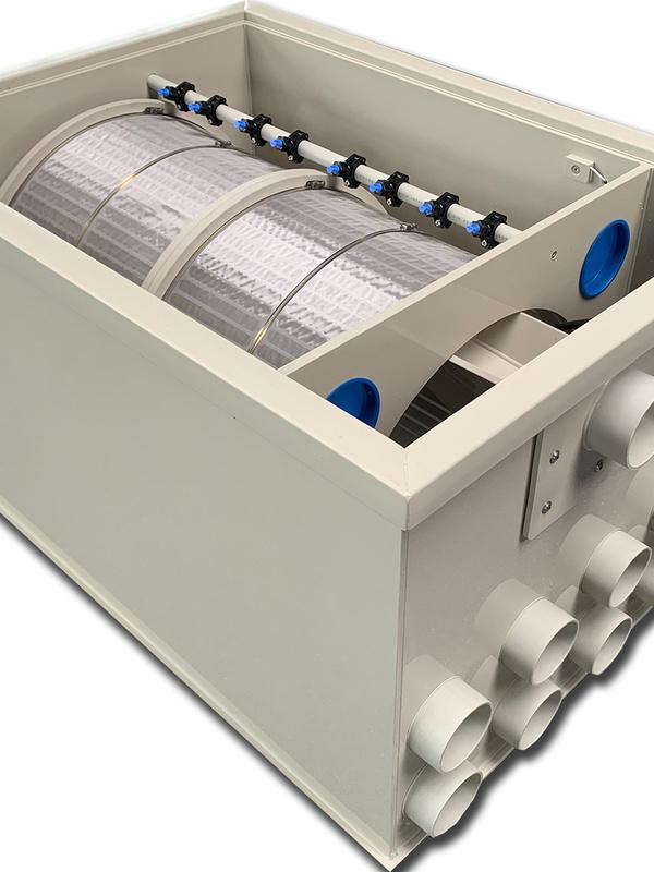 Filtre à Tambour 200m3 / h débit Max